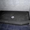 Precio de un plato de ducha rectangular en piedra natural color negro