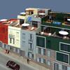 Proyecto para construir en las Palmas una casa de 100 metros cuadrados 3 habitaciones un baño