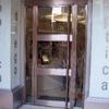 Suministrar una Puerta con Cristal y Aluminio