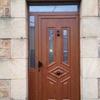 Instalación de gatera en puerta con climalit