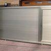 Cajón de lamas de aluminio