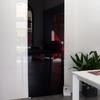 Puerta corredera interior en cristal opaco, para instalar en pladur, preferiblemente exterior y si no es posible con casoneto