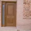 Montaje puerta garaje y peatonal de entrada a la vivienda