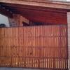 Reparar puerta corredera de entrada a garaje