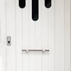 Cortar una puerta de entrada