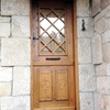Empapelar parte trasera puerta de entrada