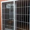 Puertas reja metálica de 2 hojas en hierro