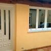 Puerta de Aluminio o PVC + 2 Ventanas