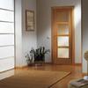 5 puertas de interior de madera.