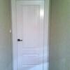 Pintar 9 puertas de color blanco