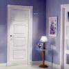 Instalar 7 puertas de interior lacadas en blanco