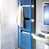 Girar radiador pequeño de baño