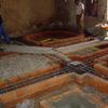 Reforma marcos puerta casa antigua