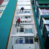 Alicatar Patio de 13 m2 y Fachada de 8 m2