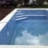 Construir piscina de hormigón  con un vaso
