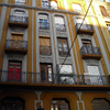 Demolición con fachada protegida