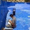Localizacion y reparacion fuga en piscina