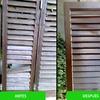 Restauración y pintura en puertas de madera