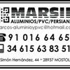 Aluminio Y Pvc Marsil