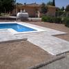 Solar alredores de piscina con mircrocemento