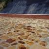 Reparación de tubería ( abrir zanja en solado de piedra)