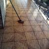 Cambiar juntas de baldosas en terraza