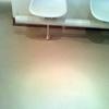 Microcemento en suelo de entrada
