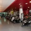 Cambiar rótulo taller motos