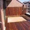 Instalar tarima madera exterior en terraza de 4,4m x 2 m