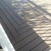 Tarima de madera circular para exterior barcelona