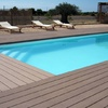 Tarima tecnológica de exterior para piscina