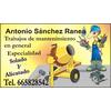 Reformas Y Mantenimiento Antonio Sánchez Ranea