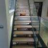 Escalera y tarima de madera rustica p exterior