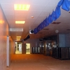 Suministro e instalación de pladur, techo registrable y suelo vinílico en rollo