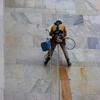 Restaurar edificio sin andamio