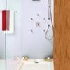 Colocar una alcachofa en una ducha