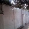 valla de aluminio
