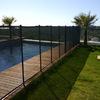 Valla de seguridad para la piscina