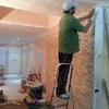 Subir suelo 10cms con celulosa de papel y colocar tarima
