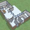 Proyecto para construir una vivienda de una planta
