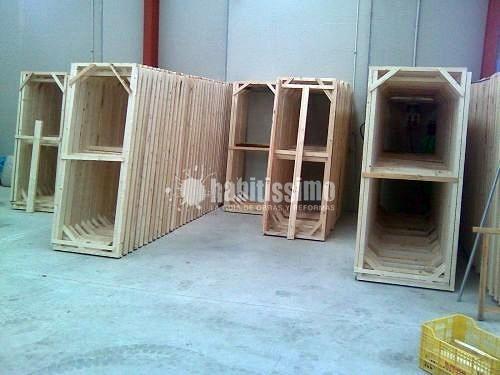 Oferta liquidaci n premarcos de madera 30 descuento for Casas de madera ofertas liquidacion