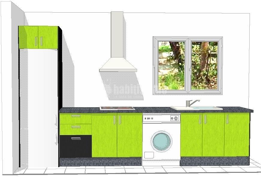 Oferta cocina de formica con granito 1080 ofertas muebles for Muebles de cocina en malaga ofertas