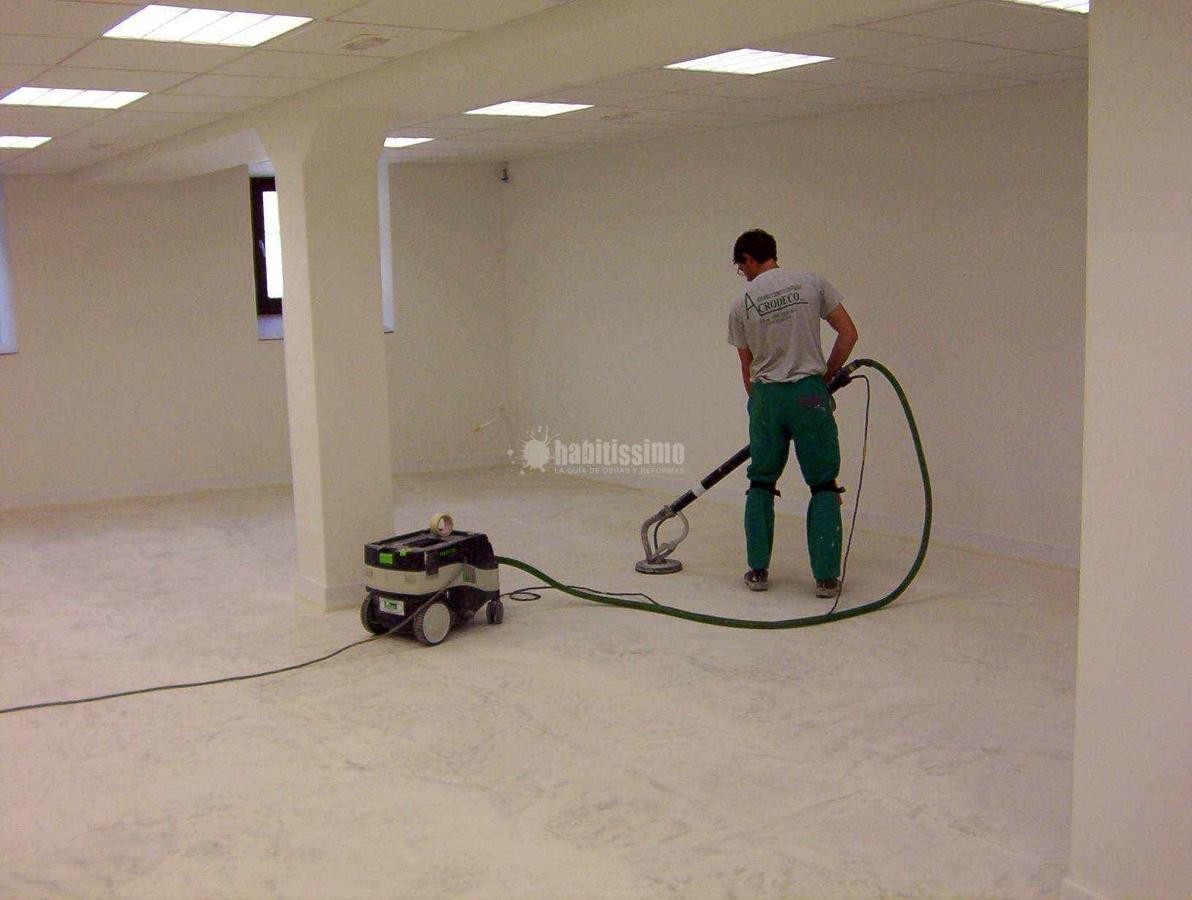 Oferta microcemento desde 35 00 m2 ofertas construcci n - Precio microcemento m2 ...