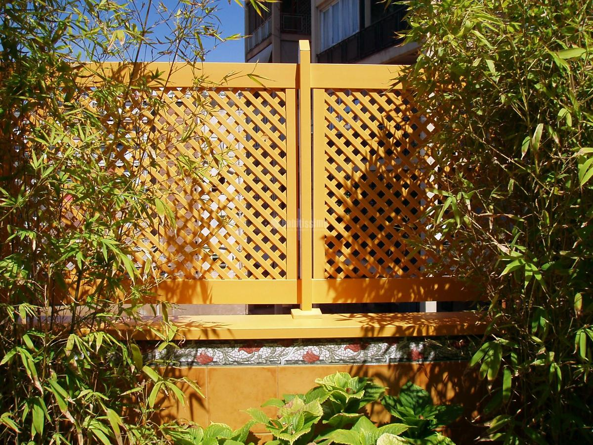 Oferta vallas y cercados de jard n sin mantenimiento 20 for Cercados jardin