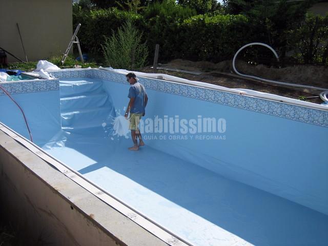 Oferta piscina de obra y liner por 7000 ofertas for Piscinas malaga construccion