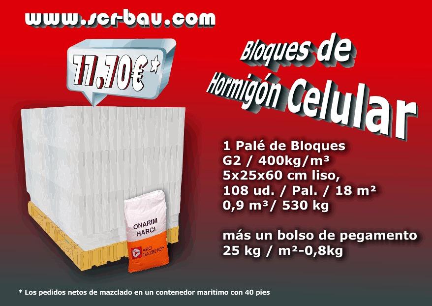 Bloque de hormigon celular cheap casa de bloques de - Hormigon celular precio ...
