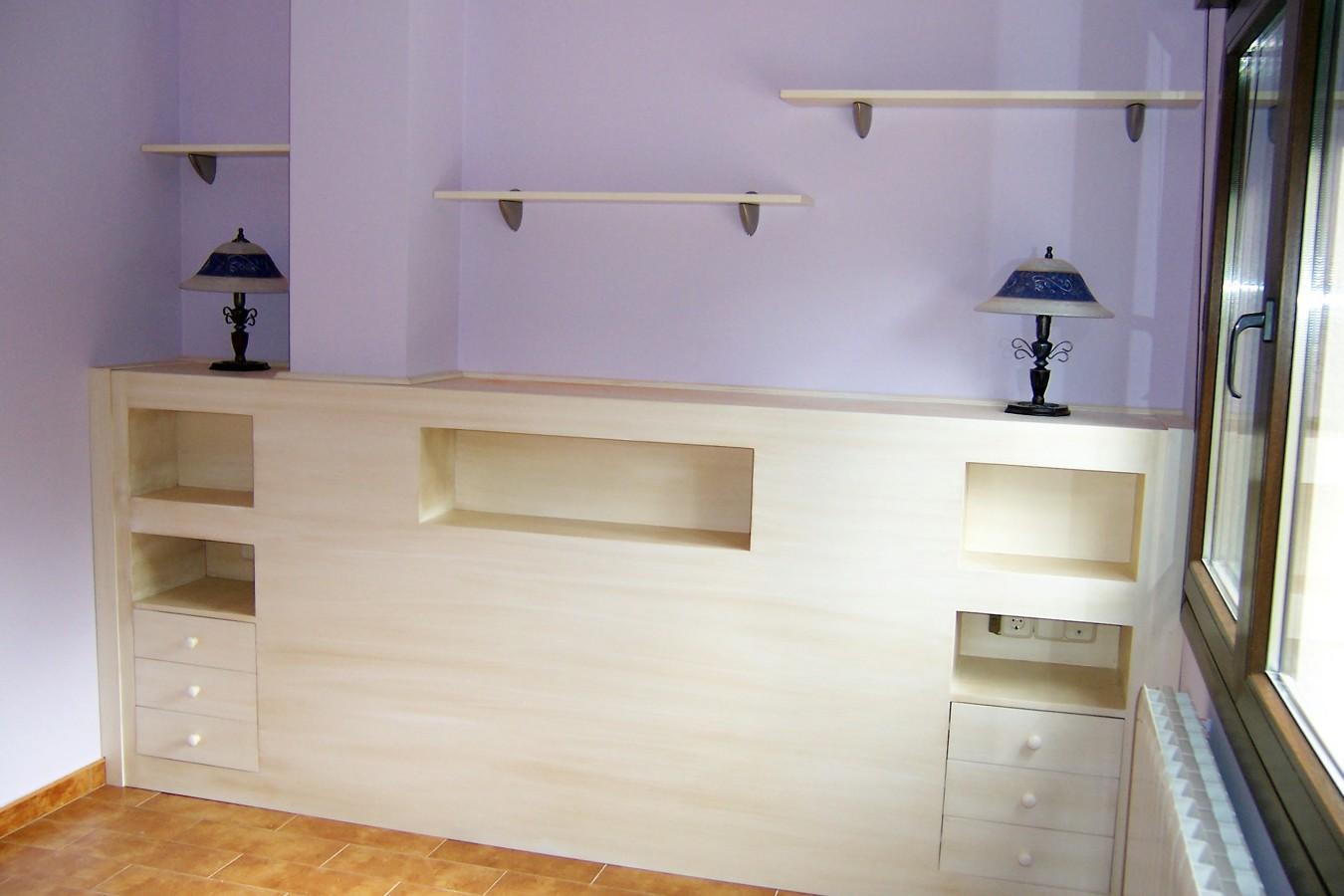 Oferta especial cabeceros ofertas carpinteros - Cabecero mesillas integradas ...
