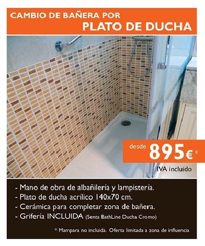 Oferta cambia tu ba era por plato de ducha 895 ofertas - Banera para plato de ducha ...