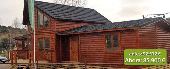 Ofertas casas de madera natura ofertas construcci n for Casas de madera ofertas liquidacion