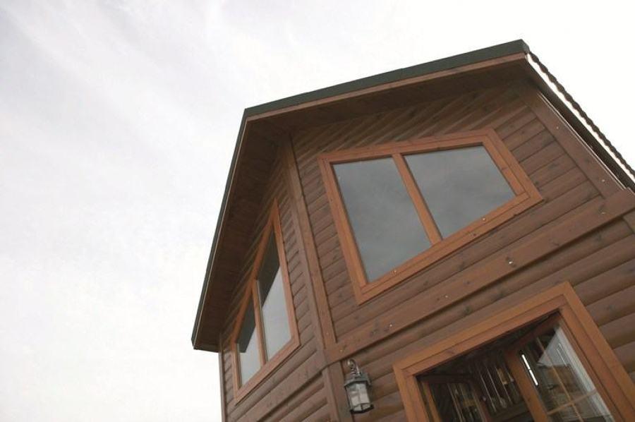 Casa prefabricada de madera a mitad de precio 200 m2 for Casas de madera ofertas liquidacion